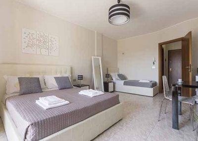 Residenze Su Planu -Camera con letto matrimoniale e singolo