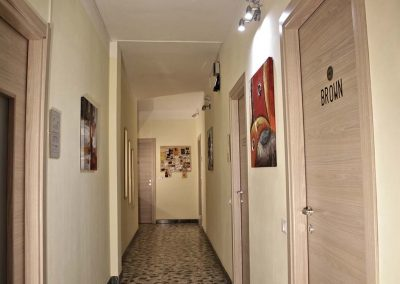 Colle dei Fiori Rooms Bed and Breakfast corridoio