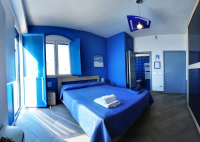 la casa sula spiaggia camera da letto