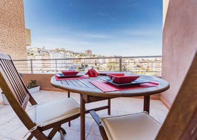 A view On Cagliari Balcone privato della camera
