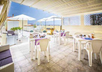 A view On Cagliari  Breakfast Colazione