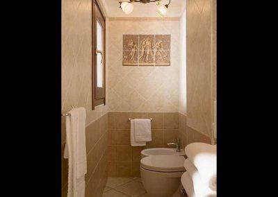 Il bagno privato Cagliarifornia Bed and Breakfast