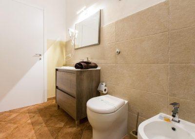 bagno privato Suite Cagliaritane Affittacamere