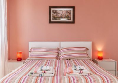 Letto matrimoniale Mareya Bed and Breakfast