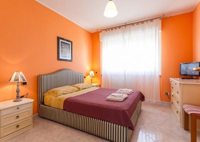 Mareya Bed and Breakfast camera matrimoniale con tv