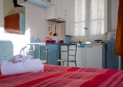 Cucina Villa Arazzurrina Affittacamere