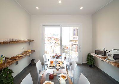 sala colazione Centro storico via sassari bed and breakfast