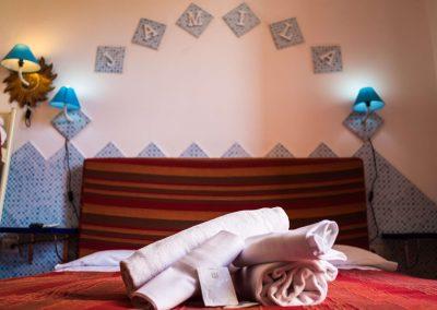 Villa Arazzurrina Affittacamere camera matrimoniale