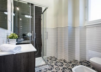 BB22 suites and bakery affittacamere bagno moderno