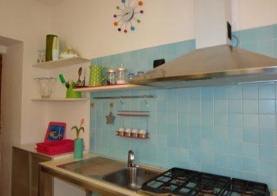 casa marina affittacamere cucina