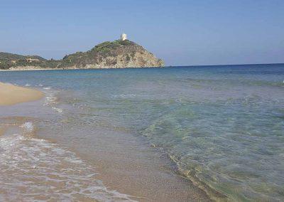 I Colori Di Chia Bed and Breakfast Spiaggia adiacente
