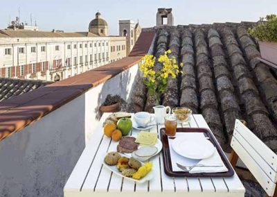 Kastrum Guesthouse Cagliari breakfast