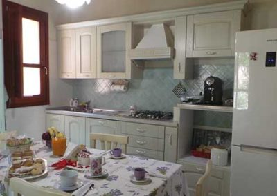 Oasi ottocento Bed and Breakfast - Cucina frigo