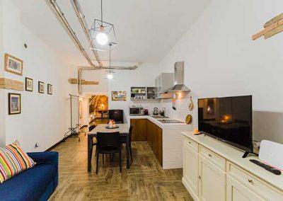 La Pietra di Cagliari Suite Appartamento - Cucina