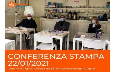 Conferenza Stampa 22 gennaio 2021 con il Comune di Cagliari e Associazione EXTRA per parlare della ripresa del turismo