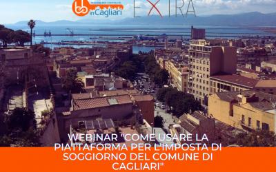 """Webinar """"Come usare la Piattaforma per l'Imposta di Soggiorno del Comune di Cagliari"""""""